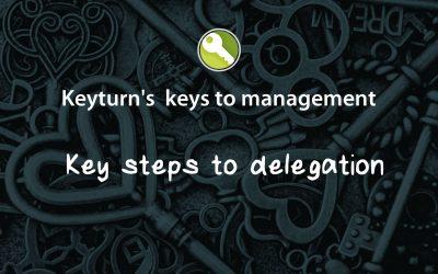 Key steps to delegation